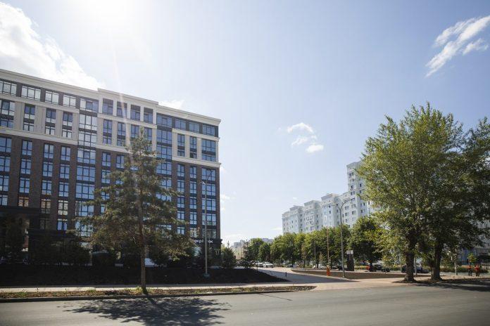 Застройщик «Мармакс» благоустроил городскую территорию вокруг ЖК «Достояние на Чапаева»
