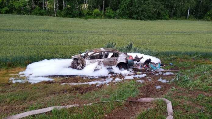 9-летняя рязанка погибла в аварии в Тамбовской области
