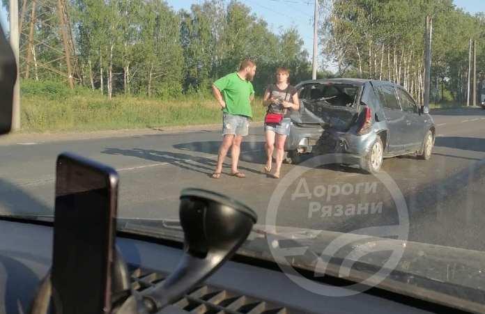 В ДТП на Восточной окружной Рязани люди не пострадали