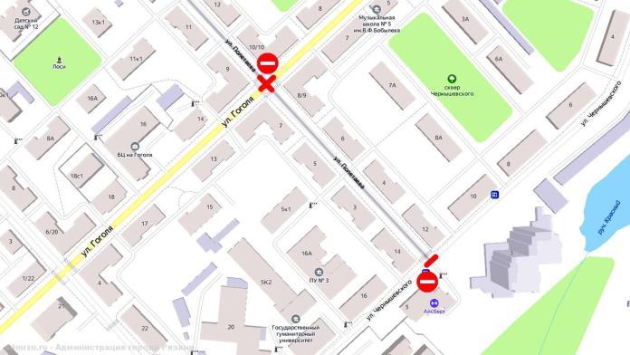 Два перекрестка на улице Полетаева закроют на несколько дней