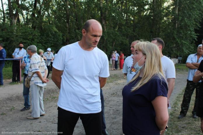 В Рязани обсудили проект благоустройства парка Белякова
