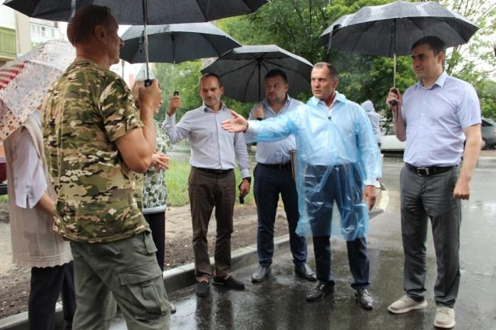Депутаты Рязанской Облдумы проконтролировали благоустройство дворов