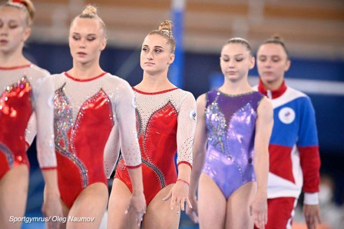 Российские спортивные гимнастки завоевали золото на ОИ-2020 в Токио