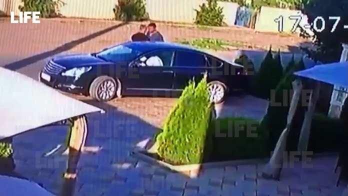 Камеры засняли убийство многодетного отца в Краснодарском крае