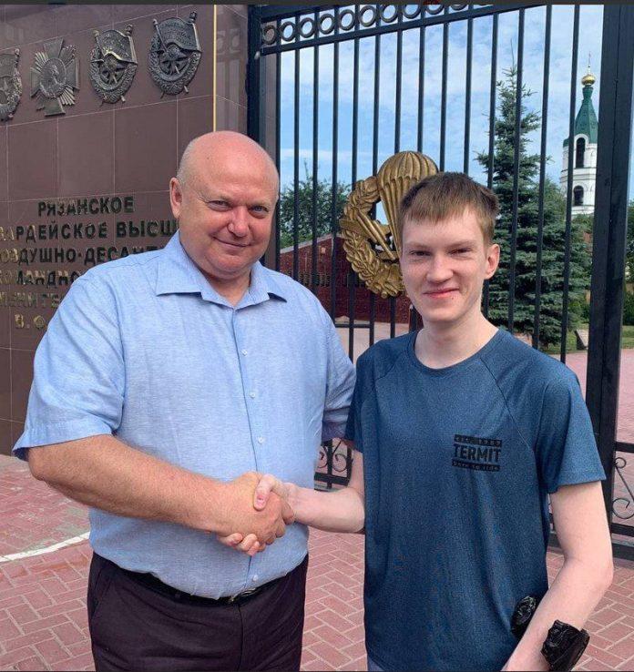 Рязанские активисты ОНФ осуществили мечту 21-летнего парня
