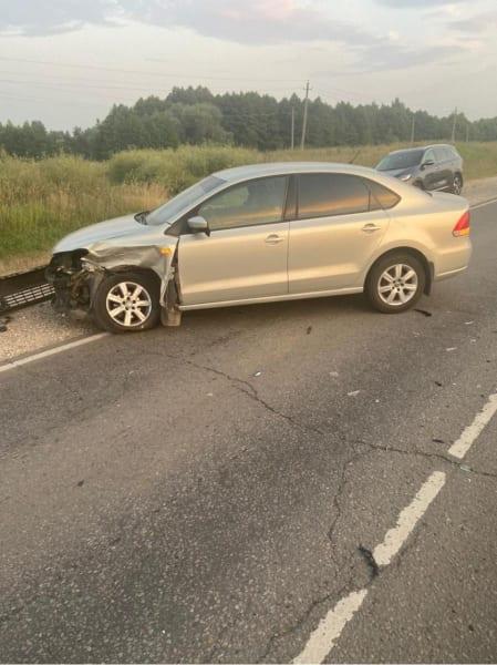 Трое детей пострадали в аварии Hyundai Solaris и Volkswagen Polo в Рязанском районе