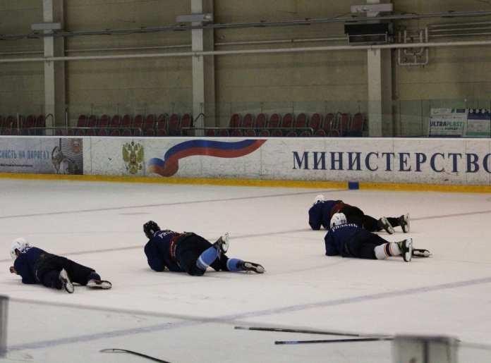 ХК «Рязань» опубликовал фоторепортаж с просмотровых сборов команды
