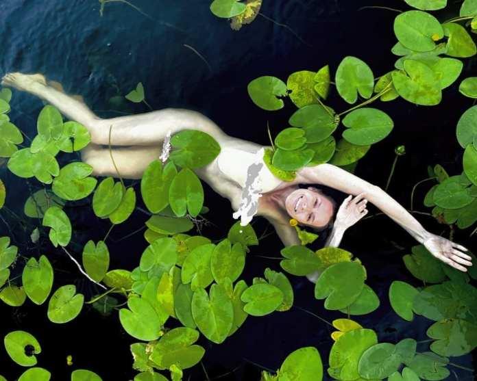 Актриса Любовь Толкалина обнажилась для съёмок на рязанском пруду