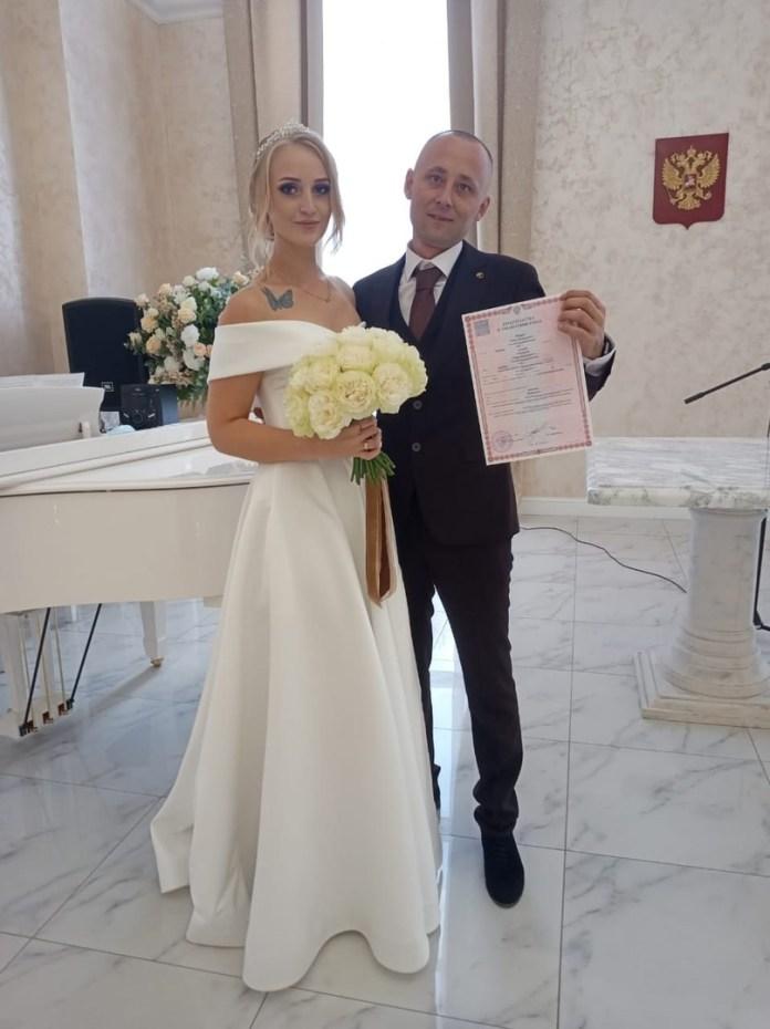 Рязанский ЗАГС опубликовал фото свадеб 20 августа