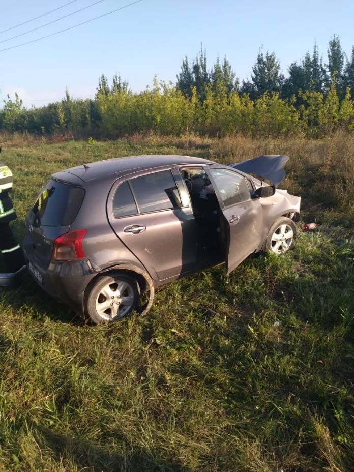 Три женщины пострадали в лобовом ДТП LADA 2115 и Toyota Yaris под Новомичуринском
