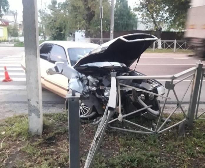 В Шацком районе автомобиль отбросило на женщину с ребёнком