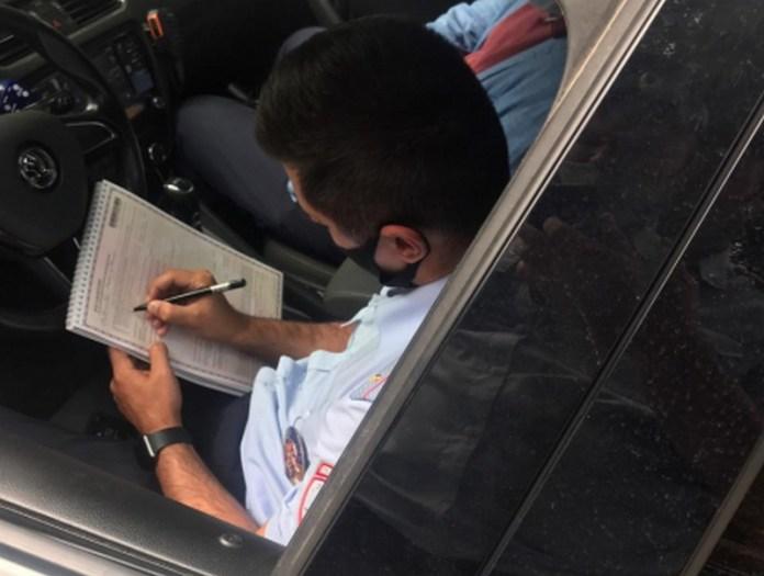 В Рязани наказали пешеходов-нарушителей