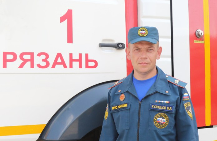 Пожарный из Рязани стал призёром Всероссийского конкурса «Лучший по профессии»