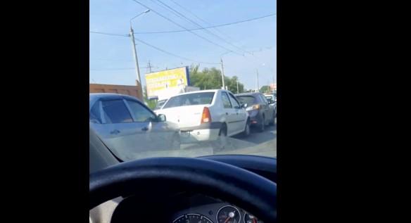 Видео с места массового ДТП на Северной окружной Рязани