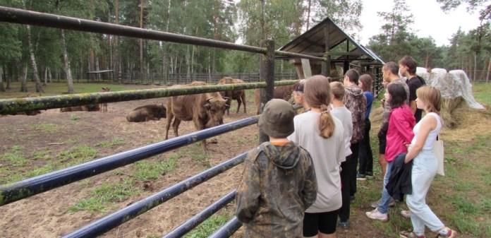 При поддержке Рязанской НПК школьники изучили флору и фауну Окского заповедника