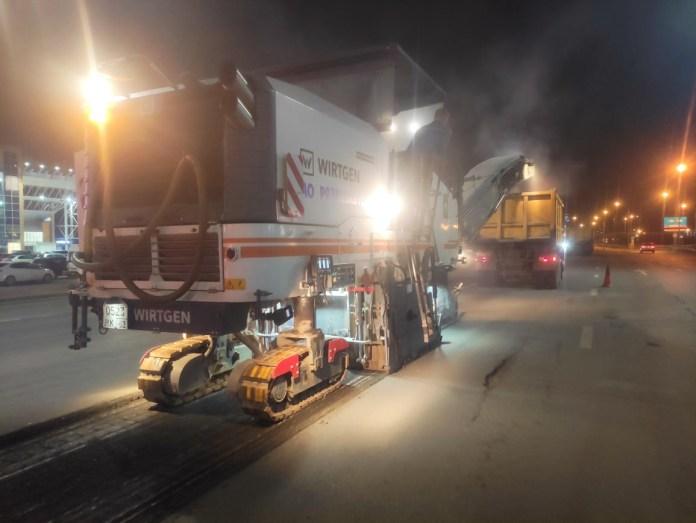 Минтранс назвал срок окончания работ на Солотчинском шоссе