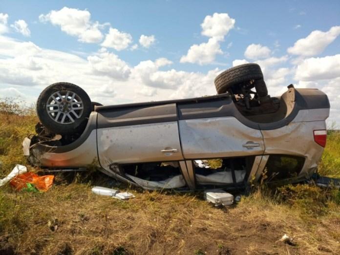 Три человека, среди которых 10-летний ребенок, пострадали в аварии в Михайловском районе