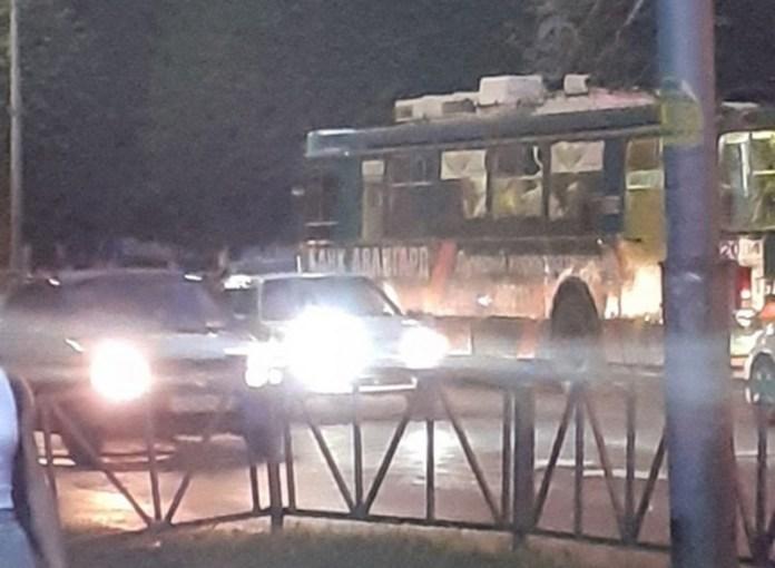 Сбитый троллейбусом в Приокском мужчина сбежал