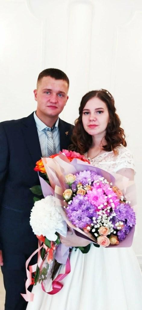 ГУ ЗАГС опубликовало фото молодожёнов из Касимовского района