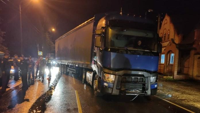 В Шацке саратовский дальнобойщик сбил пятилетнюю девочку на пешеходном переходе