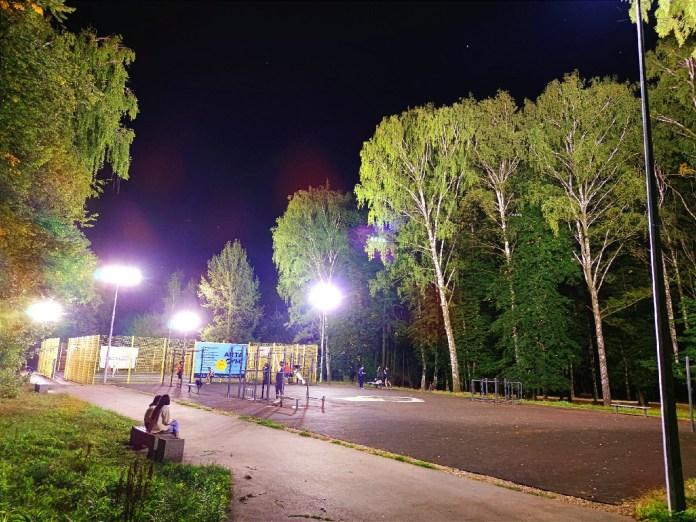 Беленецкий рассказал о недостатках нового освещения в ЦПКиО