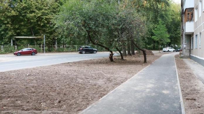 Мэр Рязани Елена Сорокина проверила ремонт улицы Западной