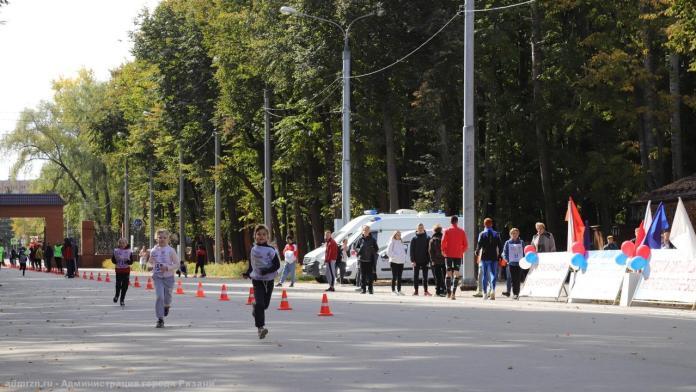 Более 700 рязанцев вышли на «Кросс нации»