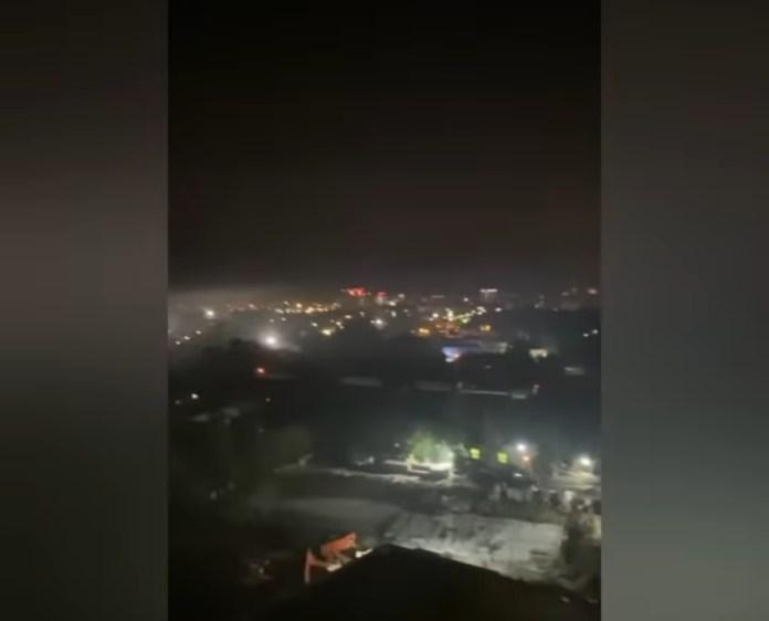 Октябрьский городок накрыл едкий дым