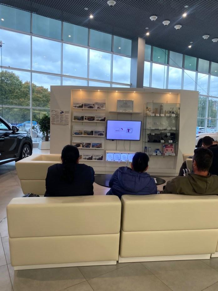 «Ростелеком» подключил умные экраны группе компаний «Автоимпорт» в Рязани