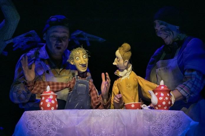 Рязанский театр кукол участвует в обменных гастролях с Театром кукол Республики Карелия