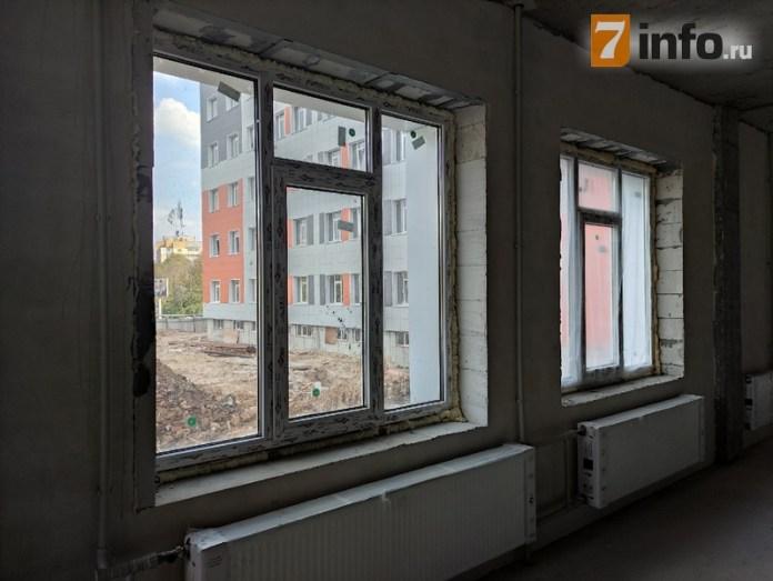 Новое здание онкодиспансера в Рязани строят с опережением графика