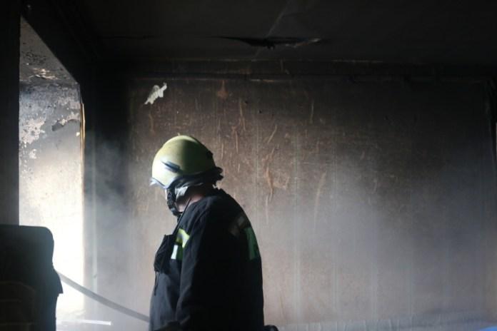На пожаре в Рязани эвакуировали 8 человек