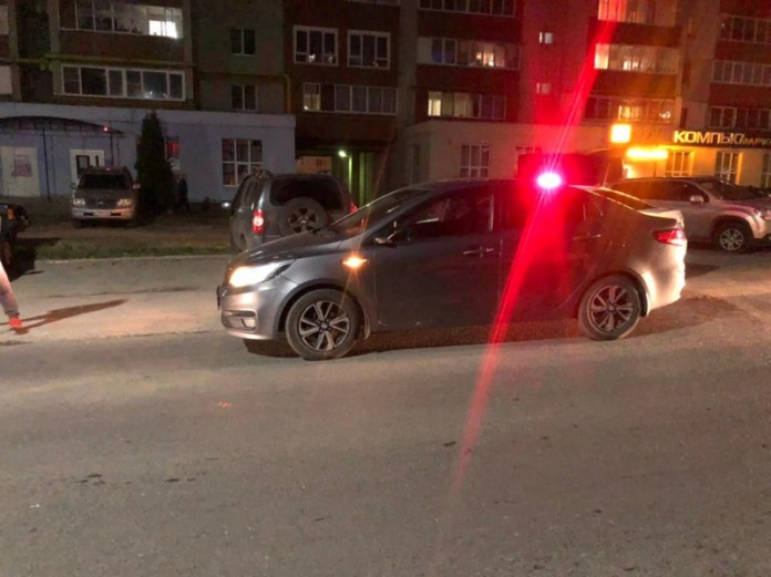 На улице Новосёлов в Рязани Kia Rio сбил женщину-пешехода