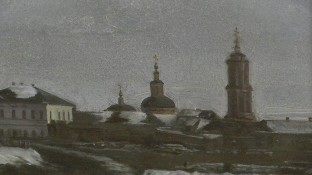 Шедевры Рязанского художественного музея позволяют прочитать историю Рязани 19 века