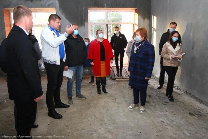 Елена Сорокина посетила пристройки в рязанским детсадам