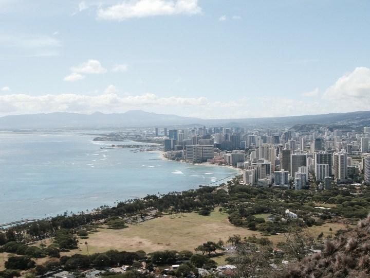 Hawaii Oahu Waikiki Diamond Head