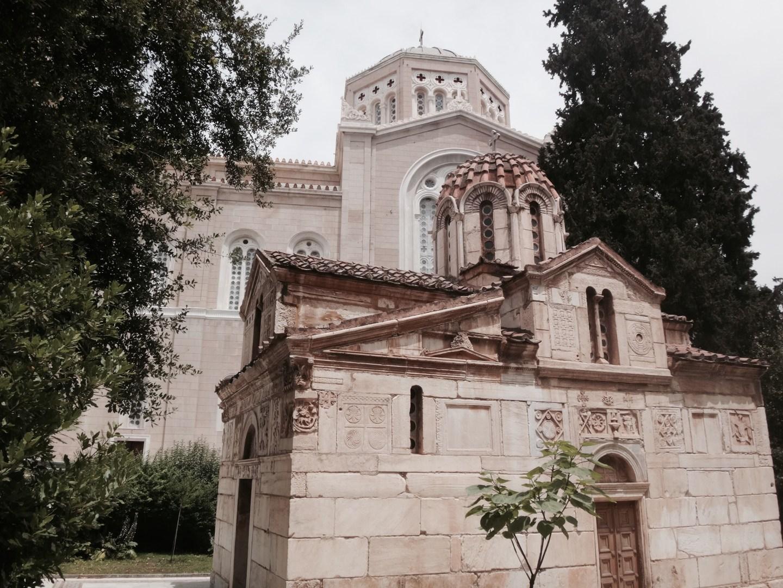 athen kirche kapelle