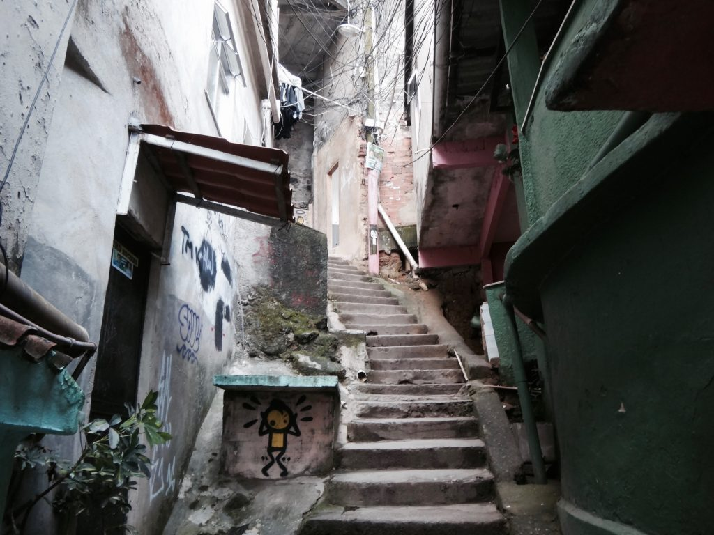 Favelas Rio de Janeiro Rocinha wie gefährlich