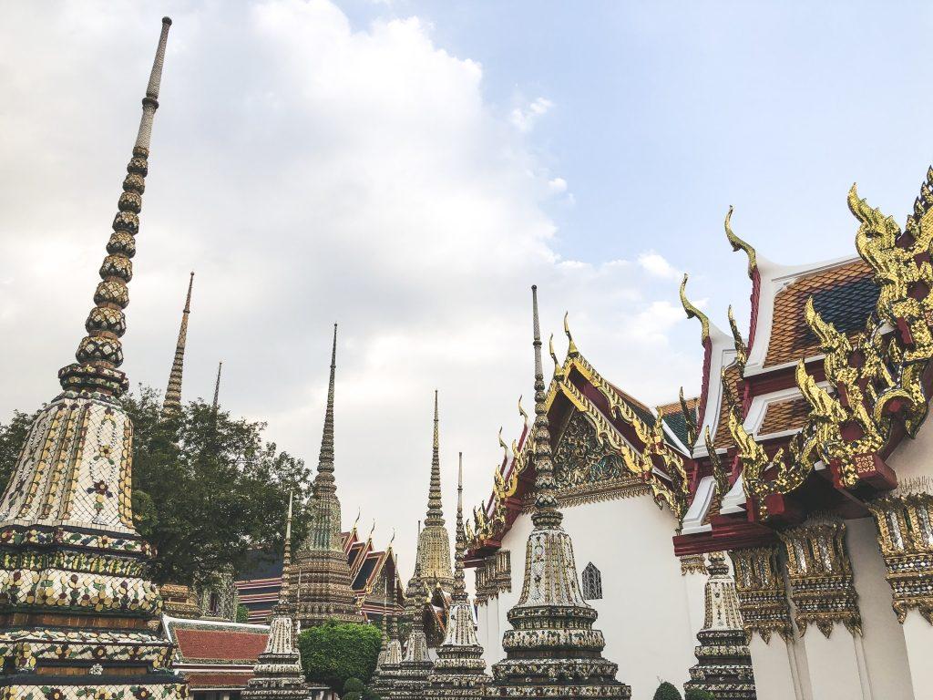 Wat Pho Tempel Liegender Buddha Bangkok