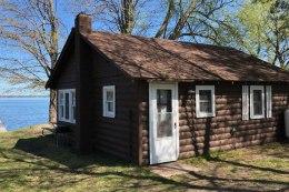 Cabin exterior.