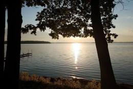 Sunset on Paradise Lake.