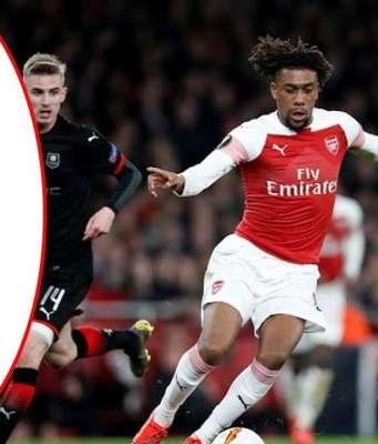 Hasil Liga Eropa Leg Kedua : Arsenal Melawan Rennes