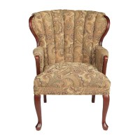 Autumn Queen Anne Accent Chair - WG&R Furniture