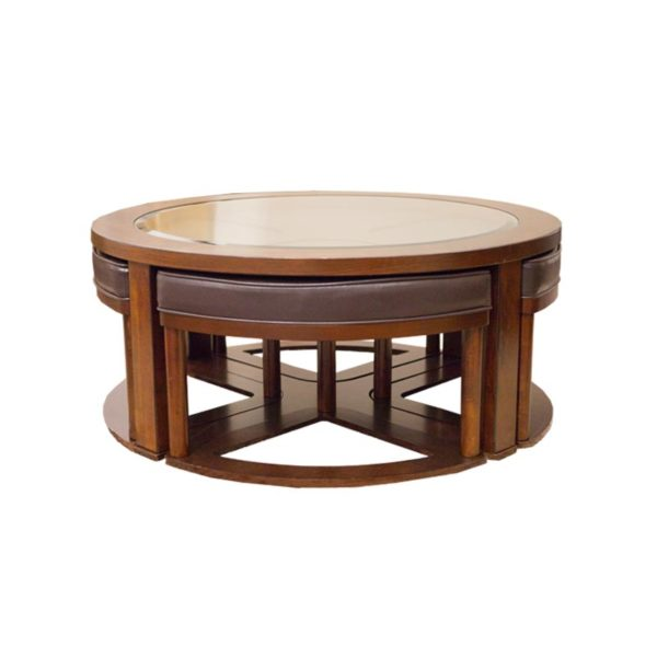 Marion Cocktail Table W/ Stools