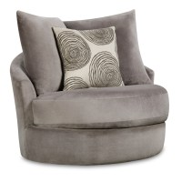 Harvest Swivel Accent Chair - WG&R Furniture