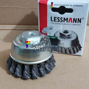 Cup Brush 65x10mm Lessmann Germany