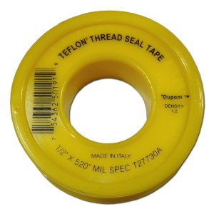 Dupont 12mm PTFE Teflon Thread Sealant Tape,