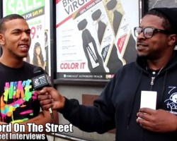 Word On The Street – Street Interviews pt1