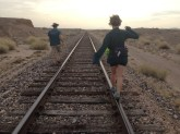 Walking into the Sonoran Desert