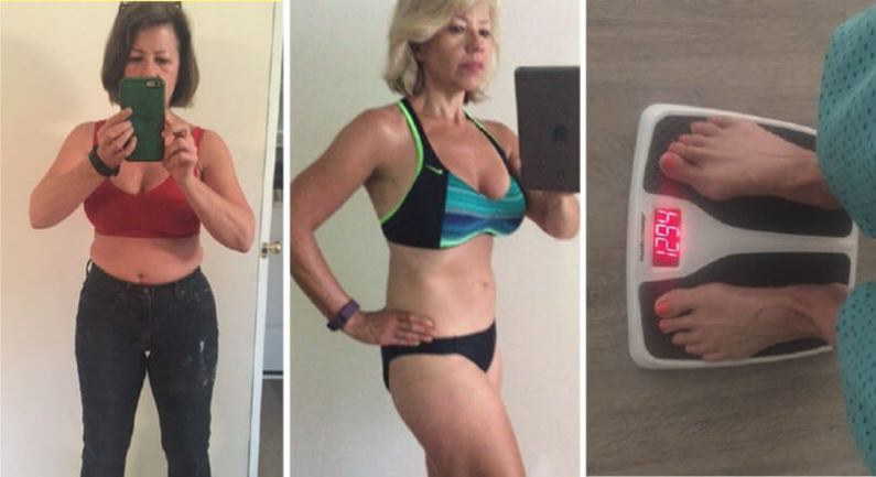 7 Minute Ageless Body Secret  Image of 7MABS Homepage Lisa Transformation